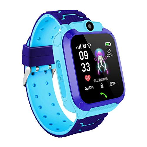(Kariwell Q12 Children's Positioning Smart Watch - Real Time Location/Two Way Talking/Pedometer/Calorie/Distance Calculation/Anti-Lost Kari-191)