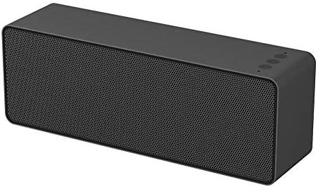 ブルートゥースのスピーカー、HDの音および大胆な低音のハンズフリー電池容量2000mahチャネルモード左右ステレオの無線ブルートゥース4.2の接触スピーカー (色 : 黒)