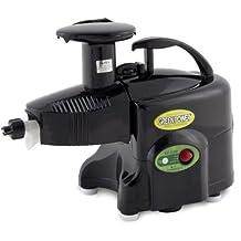 Green Power KPE1304 Twin Gear Juicer Wheatgrass, Vegetable & Fruit Juicer - Black