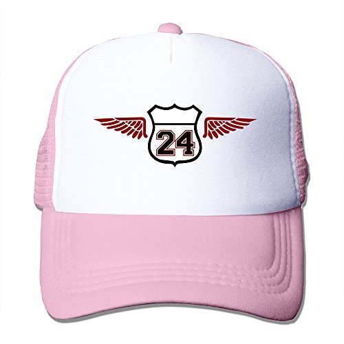 Men Numeber 24 Ameica Wings Mesh Back Hat Baseball - Cooperstown Cap Fitted Home