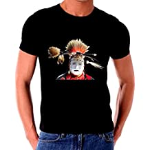 Native American Indain Warrior Painted Face Paintng T shirt