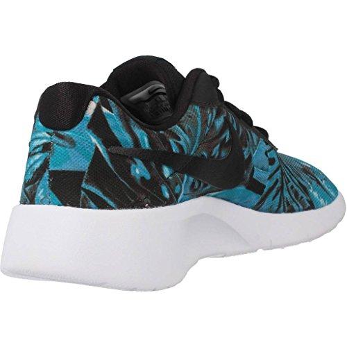 Calzado deportivo para mujer, color Azul , marca NIKE, modelo Calzado Deportivo Para Mujer NIKE TANJUN PRINT Azul Multicolor