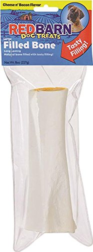 REDBARN PET PRODUCTS 018173 Large Filled Bone Cheese & Bacon