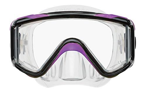 Scubapro Crystal VU Plus Dive Mask - Purple