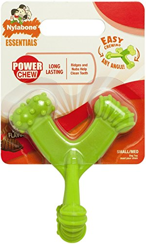 Nylabone Power Chew Axis Bone Green, Small/Medium