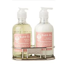 Barr Co Honeysuckle Liquid Soap and Lotion Duo
