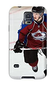 Defender Case For Galaxy S5, Colorado Avalanche (30) Pattern