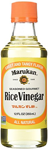 Marukan Seasoned Gourmet Rice Vinegar 12 Ounce (Pack of 3)