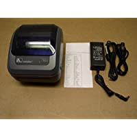 Zebra GX420d GX42-202410-000 Ethernet USB Printer W/ New Adapter & 2 Cables
