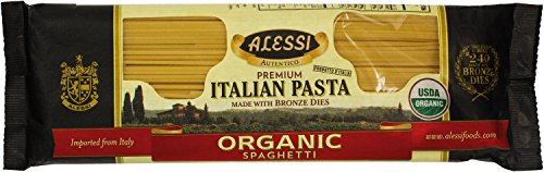 - Alessi Italian Organic Spaghetti, 1 Pound (Pack of 12)