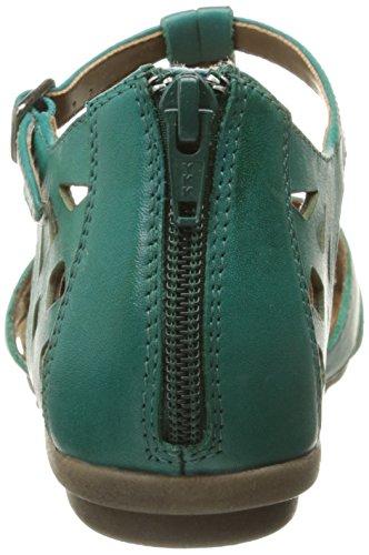 Rockport Cobb Hill Irlanda CH cerrado de la mujer vestido sandalia Verde azulado