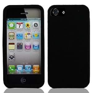 New iPhone 5 Case, iPhone 5S Case , Ultra Slim Fit Case iPhone 5S Case For Apple iPhone 5/5S (Silicone Black)
