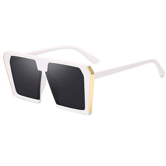 JiXuan Fashion Gafas de sol de gran tamaño Mujeres Gafas de ...