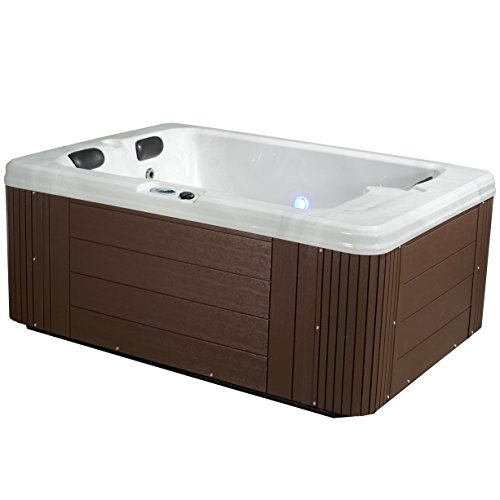 Essential Hot Tubs - Devotion - 24 Jets, Lounger Acrylic Hot Tub by Essential Products