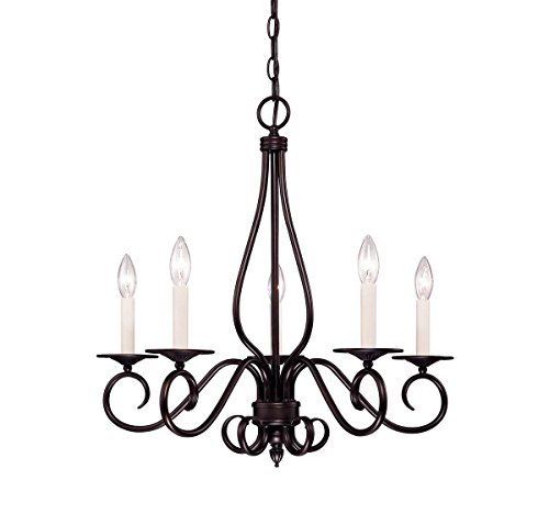 (Savoy House KP-95-5-13 Five Light Chandelier)