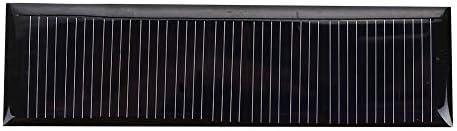 Z.L.FFLZ Mini Solar-Panel Tragbare Polysilicon Solarzellen-Wasserdichtes Solar Panel Fast Charger Solarlicht DIY Spielzeug Durable DIY 5.5V 0.22W
