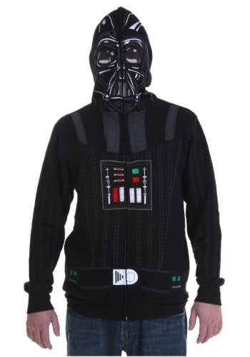Star Wars Sith Full Face Black Hoodie, Small]()
