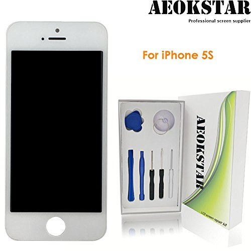 iphone5s screen repair kit white - 6