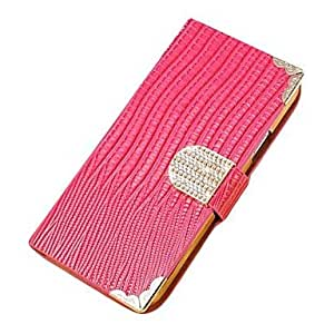 JOE Shining Crystal Pattern PU Leather Case for Samsung Galaxy S3 MINI I8190 , Blue