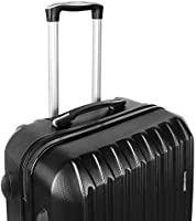 ffdcd864ba42 4 Pieces Luggage Set Hardside Spinner Luggage ABS Light Travel Case -16