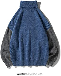 WSDMY Couleur Bloc Patchwork////Hoodies Pull /À Capuche Sweats Mens Harajuku Mode Casual Streetwear /À Capuche