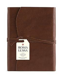 Cavallini Roma Lussa Journals Chocolate 5x7, 416 Softbound Leather (1574899643)   Amazon Products