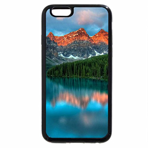 iPhone 6S / iPhone 6 Case (Black) Moraine lake sunrise