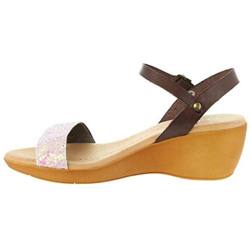 Sandales 31009 Rosa Femme Pour Cumbia Glitter 0BxUnndg