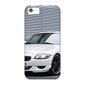 New Snap-on 1 Skin Cases Covers Compatible With Iphone 5c- White Ac Schnitzer Bmw M Coupe Front Angle