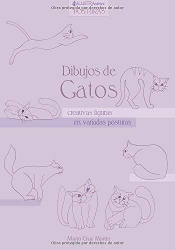 Dibujos de Gatos: creativas figuras en variadas posturas ILUSTRAnatura Posturas: Amazon.es: Maria Cruz Martin: Libros