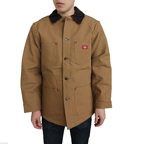 Dickies Men's 3439 Blanket Lined Chore Coat Jacket (2XL, Duck (Brown Blanket Chore Coat)