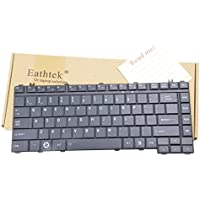 Eathtek Replacement Keyboard for Toshiba Satellite L305-S5918 L305-S5919 L305-S5920 L305-S5875 A305D-S6825 A305D-S6848 L305-S5955 L305-S5956 L305-S5957 L305-S5958 series Black US Layout