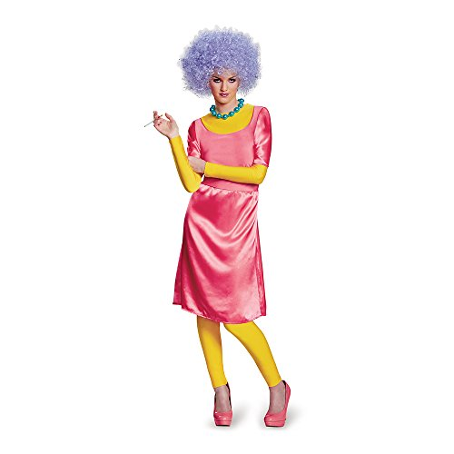 Disguise Women's Patty Deluxe Adult Costume, Pink, Adult Medium