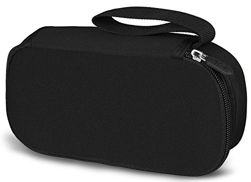 WATERFLY Class Black Travel Organizer / Carry Case Bag Pouch Cover Pack Holder For AC Adapter Laptop Charger Power Cord Mouse Electronics Accessories MP3 MP4 Cell Phone Smartphone USB Cable Navigater