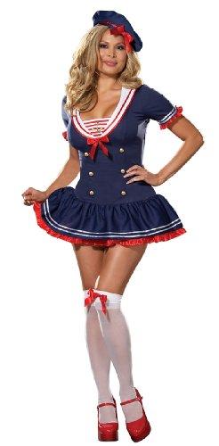 [Hello Sailor Costume - Plus Size 3X/4X - Dress Size 18-20] (Plus Size Sexy Sailor Costumes)