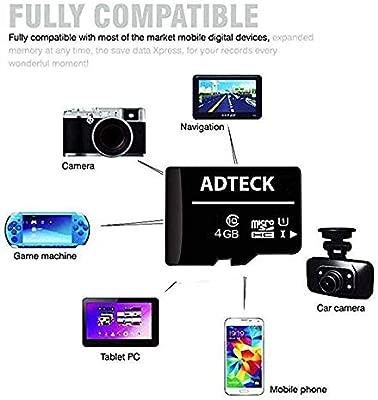Samsung Galaxy J4+ Tarjeta de Memoria Micro-SD de 4 GB ...