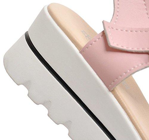Sandalo Con Plateau E Cinturino Alla Caviglia Con Cinturino Alla Caviglia E Cinturino Alla Caviglia