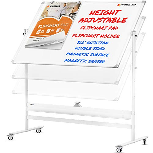 Mobile Whiteboard 60x46 Large
