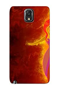 New Shockproof Protection Case Cover For Galaxy Note 3/ Flame Princess Adventure Time Case Cover