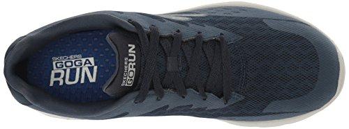 Skechers Go Run 400, Zapatillas de Deporte para Exterior Hombre Azul (Nvgy)