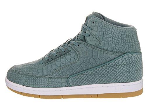 Nike Heren Air Python Basketbalschoen Hasta / Hasta-wit-gom Lichtbruin