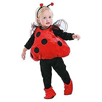Totally Ghoul Ladybug Vest Baby / Toddler Halloween Costume  sc 1 st  Amazon.com & Amazon.com: Totally Ghoul Ladybug Vest Baby / Toddler Halloween ...