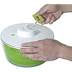 Progressive International PS-1200 Prep Solutions Salad Spinner, Green