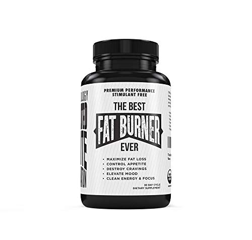 The Best Fat Burner Ever – Weight Loss Supplement, Appetite Suppressant, Stimulant Free – Premium Fat Burning Thermogenic – Lepticore, Berberine, White Kidney Bean Extract, Piperine, More – Diet Pills