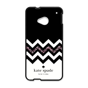 Custom Printed Phone Case kate spade For HTC One M7 RK2Q02285