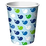 Creative Converting Ocean Preppy Boy Hot or Cold Beverage Cups, 8-Count, Health Care Stuffs