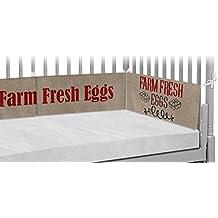 Farm Quotes Crib Bumper Pads (Personalized)