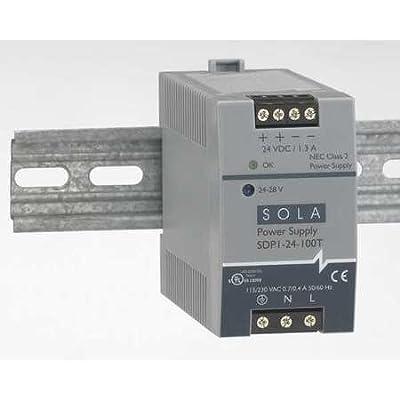 Sola/Hevi-Duty SDP3-15-100T DC Power Supply, 12-15 VDC, 4.2-3.4 Amp