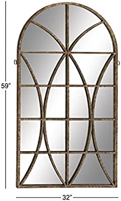 Deco 79 Metal WD Wall Mirror 32 by59quot
