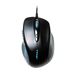 Kensington Pro Fit Full-Size Mouse USB (K72369US),Black